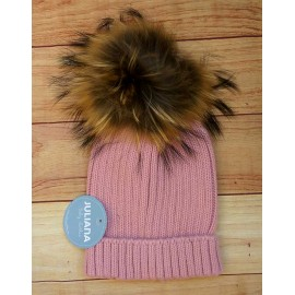 Juliana Winter Baby Pink Hat