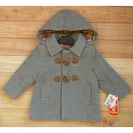 Anavig Winter Baby Boy Gray Coat
