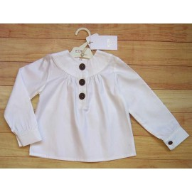 Eve Children Winter Girl White Shirt
