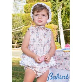 Babiné Summer Baby Girl Set Printed Cups