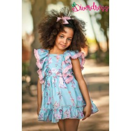 DiverDress Summer Girl Dress Ballerina