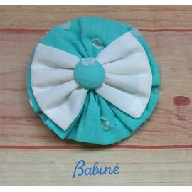Babine Summer Girl Pin Green and Beige