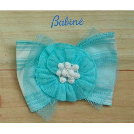 Babine Summer Girl Pin Turquoise Tulle