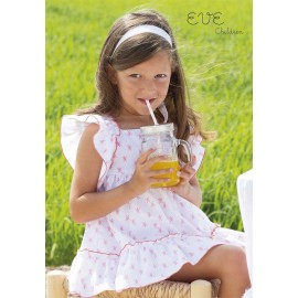 Eve Children Summer Girl Dress Small Squares