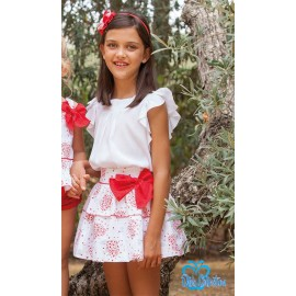 DBB Collection Summer Girl Set White and Cores