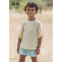 José Varón Summer Boy Set Yellow and Turquoise