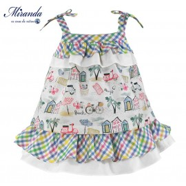 Miranda Summer Baby Girl Dress Holidays