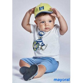 Mayoral Summer Baby Boy Set Dog