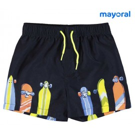 Mayoral Summer Boy Swimsuit Skates
