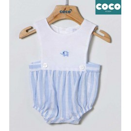 Coco Acqua Summer Baby Boy Set Stripes Elephant