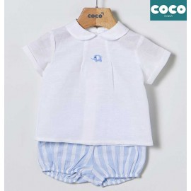 Coco Acqua Summer Baby Boy Set Elephant