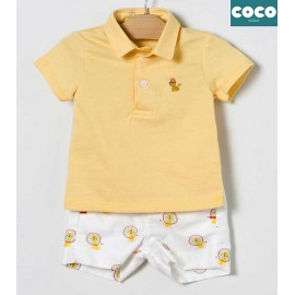 Coco Acqua Summer Boy Set Cats