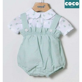 Coco Acqua Summer Baby Boy Set with Romper Turtles