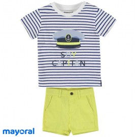 Mayoral Summer Baby Boy Set Captain