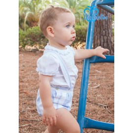 DBB Collection Summer Baby Boy Set White and Blue