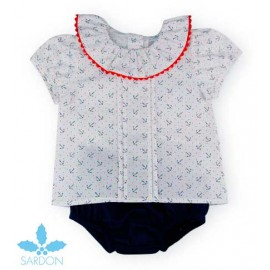 Sardon Summer Baby Boy Set Anchors