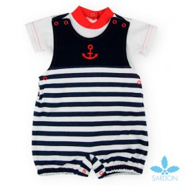 Sardon Summer Baby Boy Set with Romer Anchor