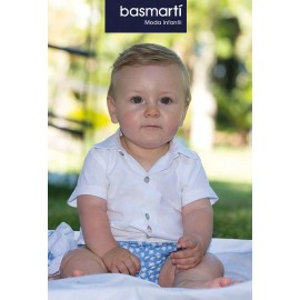 Basmartí Summer Baby Boy Set Stars