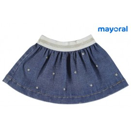 Mayoral Summer Baby Girl Skirt Denim