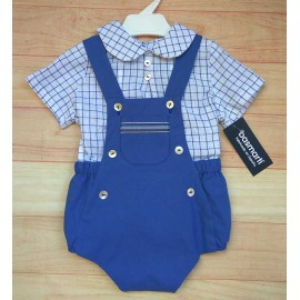 Basmartí Summer Baby Boy Set with Romper Bunbury