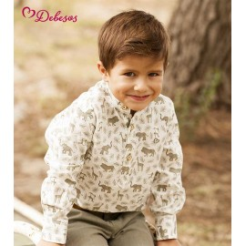 Debesos Summer Baby boy Set Safari