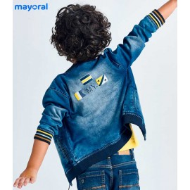 Mayoral Summer Boy Jacket Soft Denim