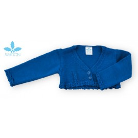 Sardon Summer Baby Girl Jacket Electric Blue