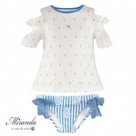 Miranda Summer Girl Swim Set Drops