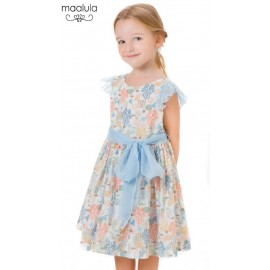 Maalula Summer Girl Dress Fishes and Coral Reefs