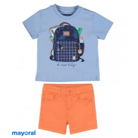 Mayoral Summer Baby Boy Set Bag