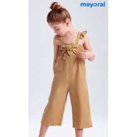 Mayoral Summer Girl Romper Caramel