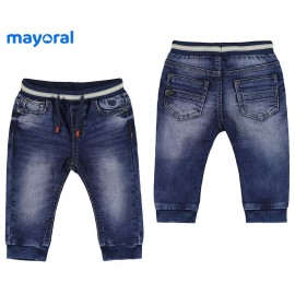 Mayoral Summer Baby Boy Long Trousers Soft Denim