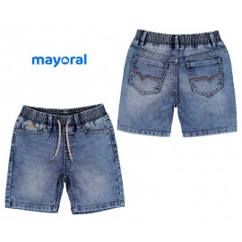 Mayoral Summer Boy Shorts Soft Denim