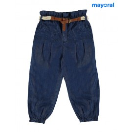 Mayoral Summer Girl Long Trousers Denim