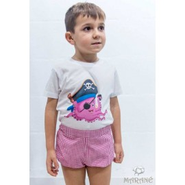 Marane Summer Boy Set Octopus