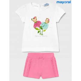 Mayoral Summer Baby Girl Set FairyTales