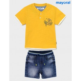 Mayoral Summer Baby Boy Set Tiger