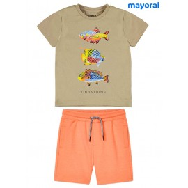 Mayoral Summer Boy Set Fishes