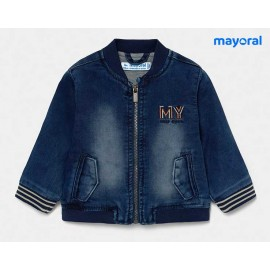 Mayoral Summer Baby Boy Jacket Soft Denim