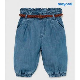 Mayoral Summer Baby Girl Trousers Denim