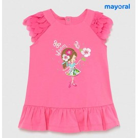 Mayoral Summer Baby Girl Dress Bloom