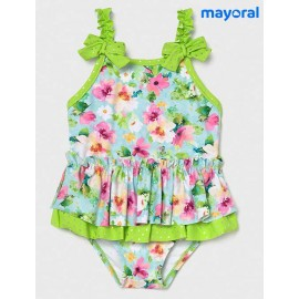 Mayoral Summer Baby Girl Swimsuit Flowers
