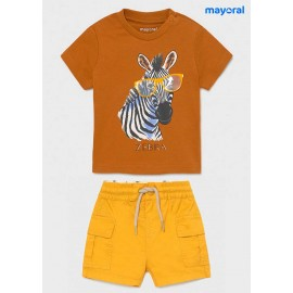 Mayoral Summer Baby Boy Set Zebra