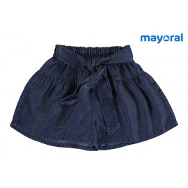 Mayoral Summer Girl Skirt Pants Denim
