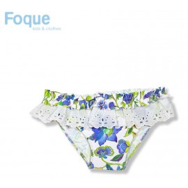 Foque Summer Girl Swim Knickers Santorini