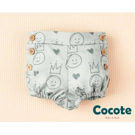 Cocote Winter Baby Boy Shorts Crowns