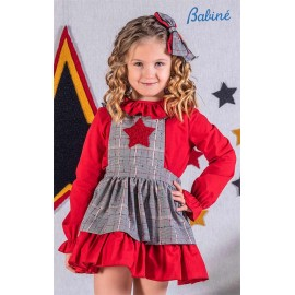 Babine Winter Girl Squared Set with Star
