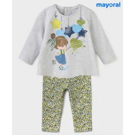 Mayoral Winter Baby Girl Set Stars and Cores