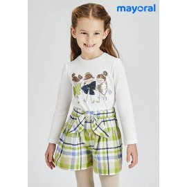Mayoral Winter Girl Set Ties and Squares