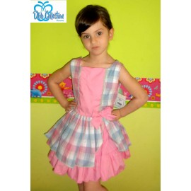 DBB Collection Summer Girl Dress Squares